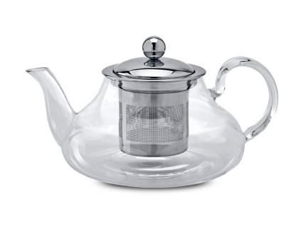 Чайник заварочный стеклянный Вербена 800мл с ситом из нержавеющей стали