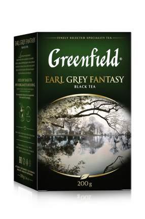 Чай черный Greenfield листовой Earl Grey Fantasy коробка 10 шт по 200 г