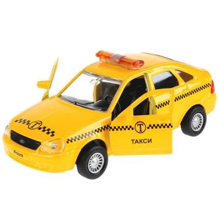 Машина Технопарк Lada Priora Такси металлическая