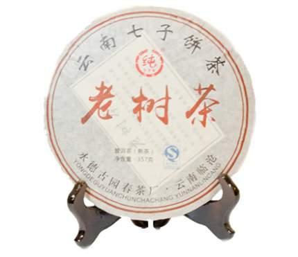 Чай Шу пуэр Лао шу ча 357 г