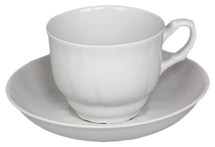 Чайная пара Добрушский фарфоровый завод Тюльпан 7С0177Ф34 1 персона