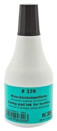 Краска штемпельная для хлопковых тканей Noris 320С 50 мл Черная...