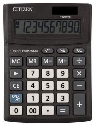 Калькулятор Citizen BUSINESS LINE CMB1001BK, настольный, 10 разрядов, 100x136 мм