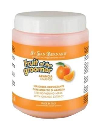 Маска для кошек и собак ISB Fruit of the Grommer Orange для слабой шерсти, 1 л