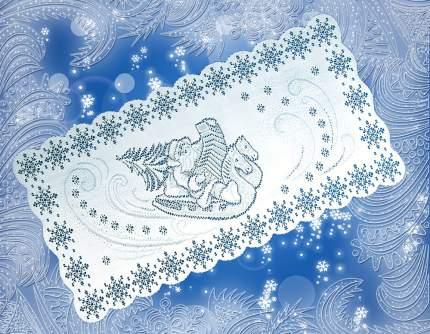 КаСЛ Дорожка на стол Дед Мороз (40х80 см)