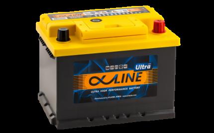 Аккумулятор ALPHALINE Ultra 56200 U PR 12В 62Ач 610CCA 242x175x175 мм Обратная (-+)