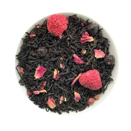 Чай черный с добавками Малина со сливками 50 г