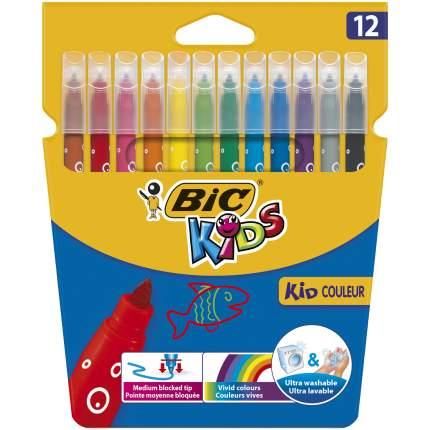 Фломастеры цветные BIC Kids Kid Couleur Коробка x12