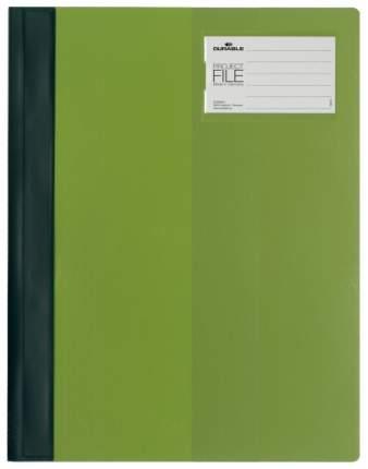 Папка-скоросшиватель Durable Project File Для проектов с кармашком Зеленый