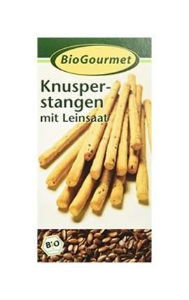 Хрустящие палочки BioGourmet с льняным семенем