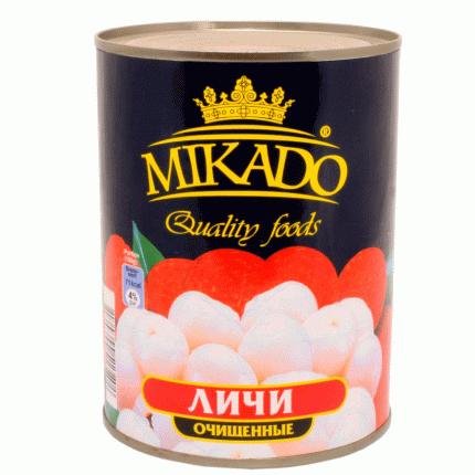 Личи Mikado очищенные 565г