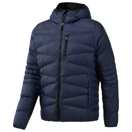Куртка Reebok Outerwear Synthetic, blue/heritage navy, L