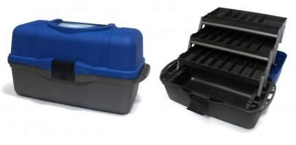 Ящик рыболова трехполочный Тонар Helios, синий