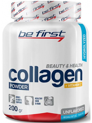 Collagen + Vitamin C Be First 200 г без вкуса