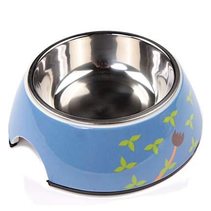 Миска для домашних животных Bobo, синяя, 150 мл