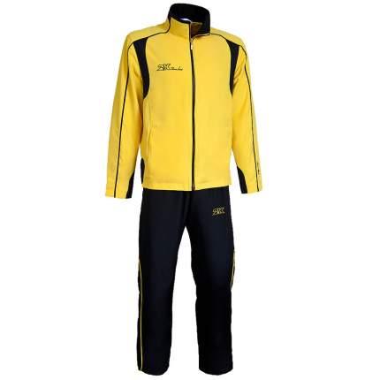 Спортивный костюм 2K Vettore, желтый/черный, L INT