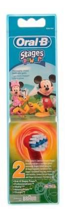 Насадка для зубной щетки Braun Oral-B EB10K Stages Kids Mickey 2 шт