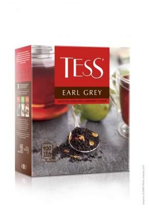 Чай Tess earl grey черный с добавками пакетированный 100 пакетиков