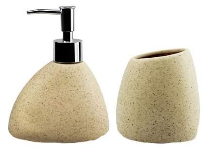 Дозатор для жидкого мыла Fissman 270 мл и стакан 220 мл в наборе