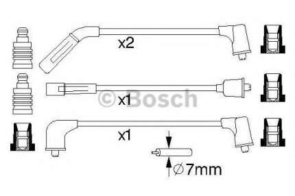 Провода высоковольтные Bosch 0986356988