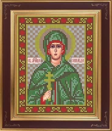 Вышивка бисером Galla Collection М272 Св.мученица Зинаида 12х15 см