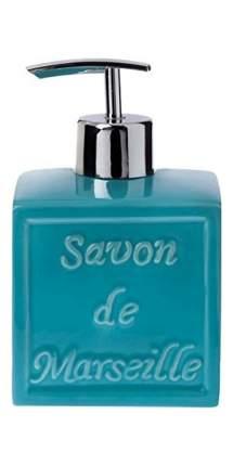 Дозатор для мыла Spirella Savon De Marseille Голубой