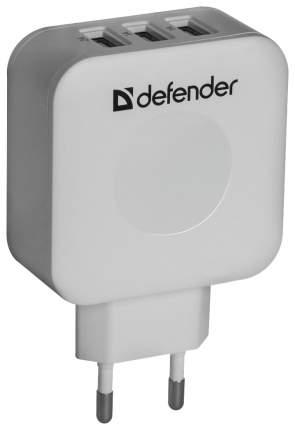 Сетевое зарядное устройство Defender UPA-30 3 USB 4A White