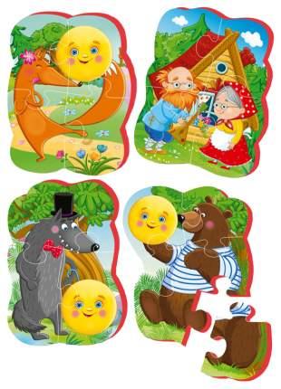 Пазл мягкий Vladi Toys Baby puzzle Сказки Колобок