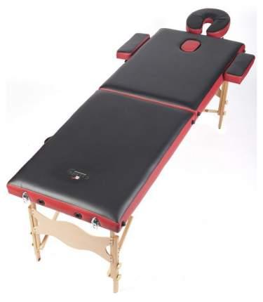 Массажный стол складной Casada Malta 2W red/black