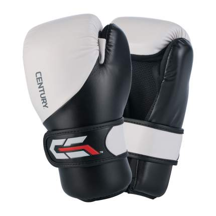 Боксерские перчатки Century C-Gear XL черно-белые