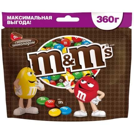 Драже M&M's с молочным шоколадом 360 г