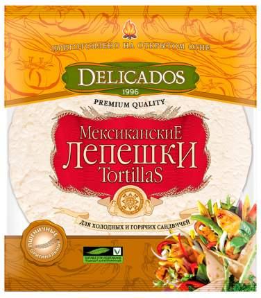 Лепешки Delicados tortillas мексиканские для сандвичей оригинальные 6 штук