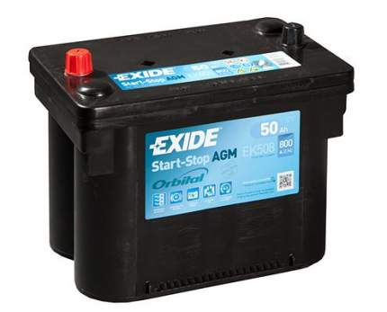 Аккумулятор автомобильный EXIDE EK508 50 Ач