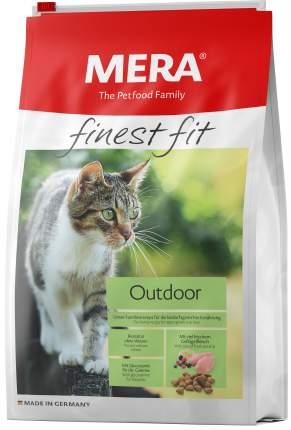 Сухой корм для кошек MERA Finest Fit Outdoor, для гуляющих на улице курица, 1,5кг