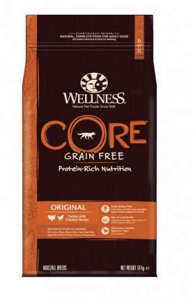Сухой корм для собак Wellness CORE Adult/All Breeds Original, курица, индейка, 1,8кг