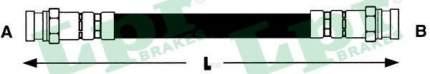 Шланг тормозной Lpr 6T47187