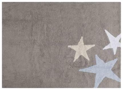Ковер Lorena Canals Три звезды Three Stars серые и голубые 120*160