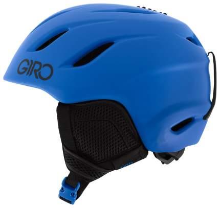 Горнолыжный шлем детский Giro Nine Jr 2019, голубой, M