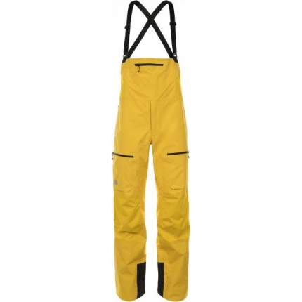 Спортивные брюки The North Face L5 GTX Pro FZ Bib, canary yellow, XL INT