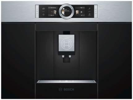 Встраиваемая кофемашина Bosch CTL636ES6 Black/Silver