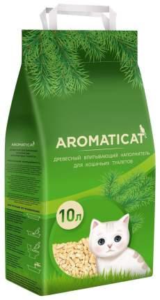 Древесный наполнитель туалета для животных AromatiCat Древесный 10л/6 кг АСD10