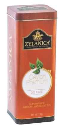 Чай черный листовой Zylanica batik design delicate super pekoe 100 г