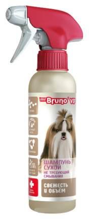 Сухой шампунь для собак Mr.Bruno VIP Свежесть и объем, экстракт риса, 200 мл