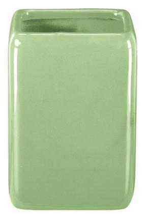 Стакан для зубных щеток Kleine Wolke Edit керамика Светло-зеленый