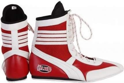 Боксерки Jabb JE-3204, красные/белые, 38