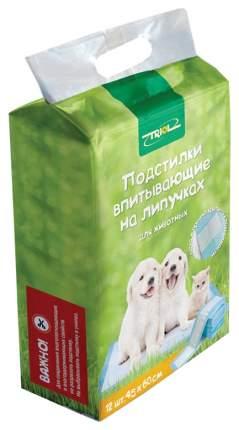 Пеленки для домашних животных Triol Впитывающие на липучках 45 х 60 см 12 шт