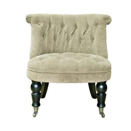 Кресло для гостиной 69х58х40 см, зеленый/серебристый/бежевый