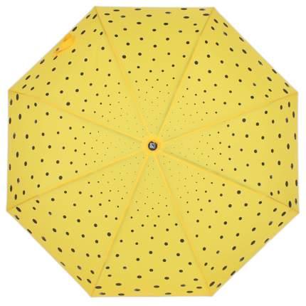 Зонт-автомат Flioraj 160409 FJ желтый