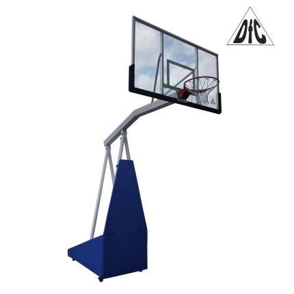Баскетбольная мобильная стойка DFC STAND72G PRO 180x105см стекло 12мм, НОВИНКА