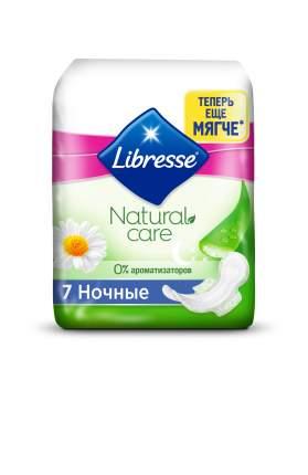 Гигиенические прокладки Libresse Natural Care Maxi Goodnight, 7 шт.